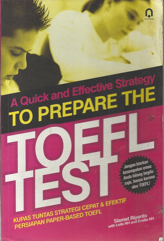 To Prepare to The Toefl test