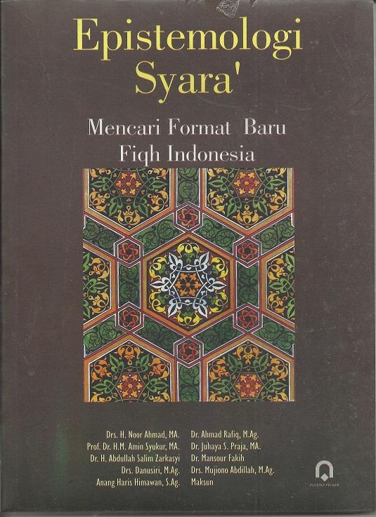 Epistemologi Syara