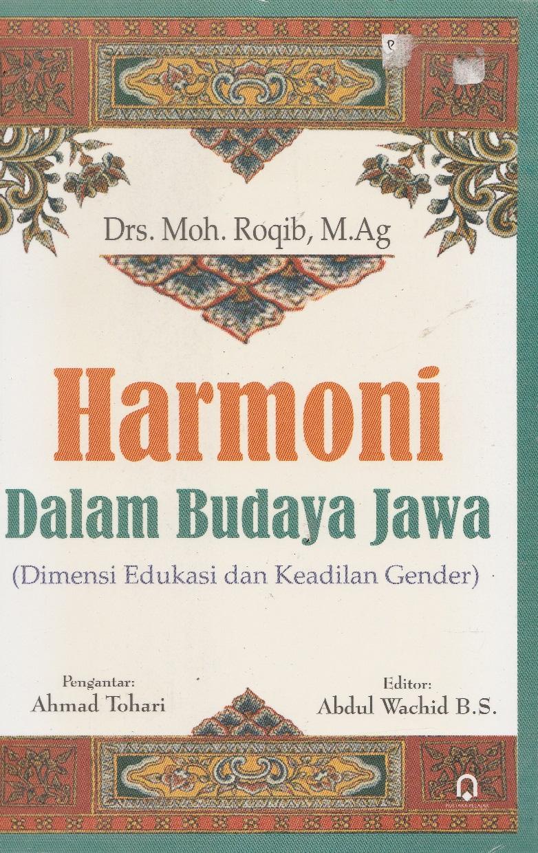 Harmoni Dalam Budaya Jawa
