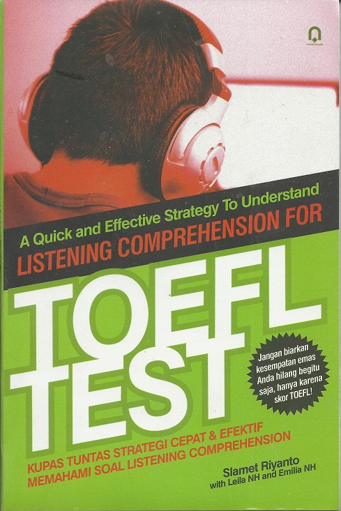 Listening Comprehension For Toefl test