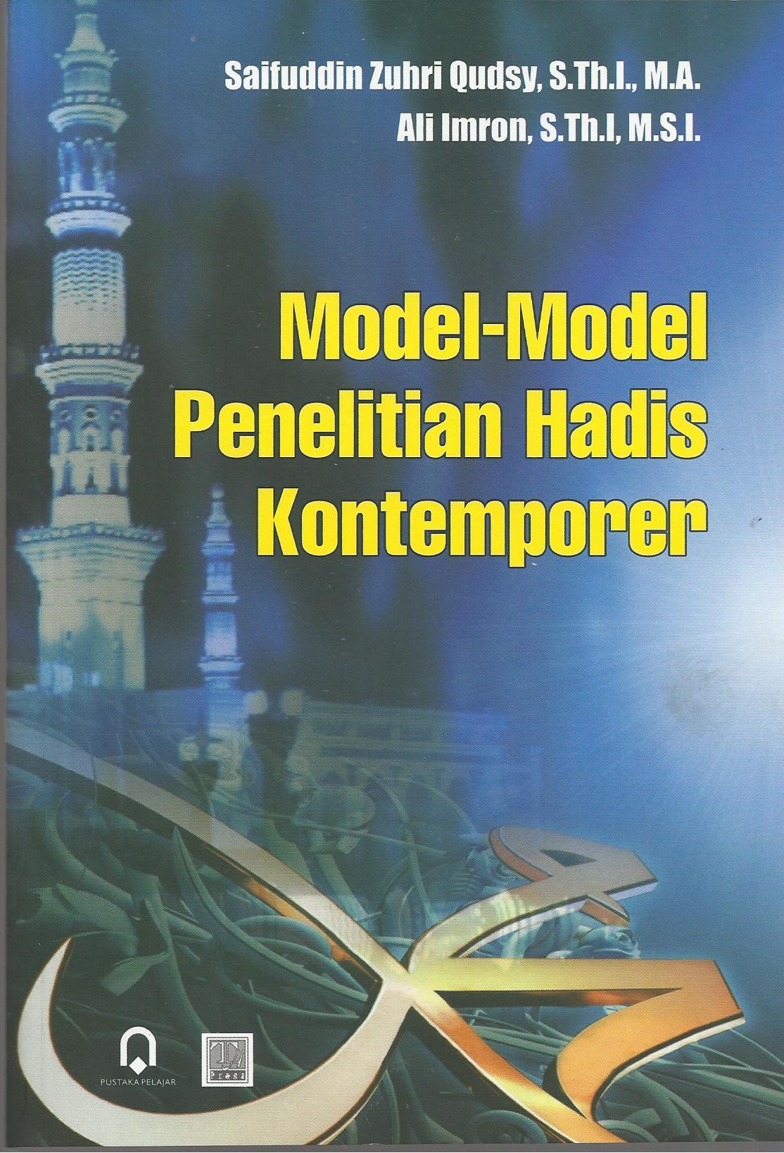 Model-Model Penelitian Hadis Kontemporer