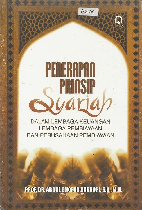 Penerapan Prinsip Syari'ah