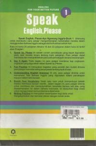 SPEAK ENGLISH, PLEASE 1 002