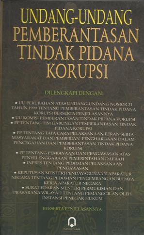 UU Tindak Pidana Korupsi