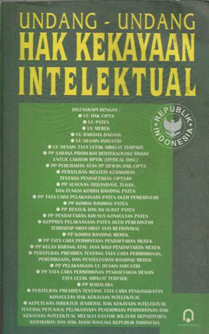 UU Hak Kekayaan Intelektual