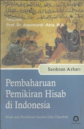 Pembaharuan Pemikiran Hisab di Indonesia