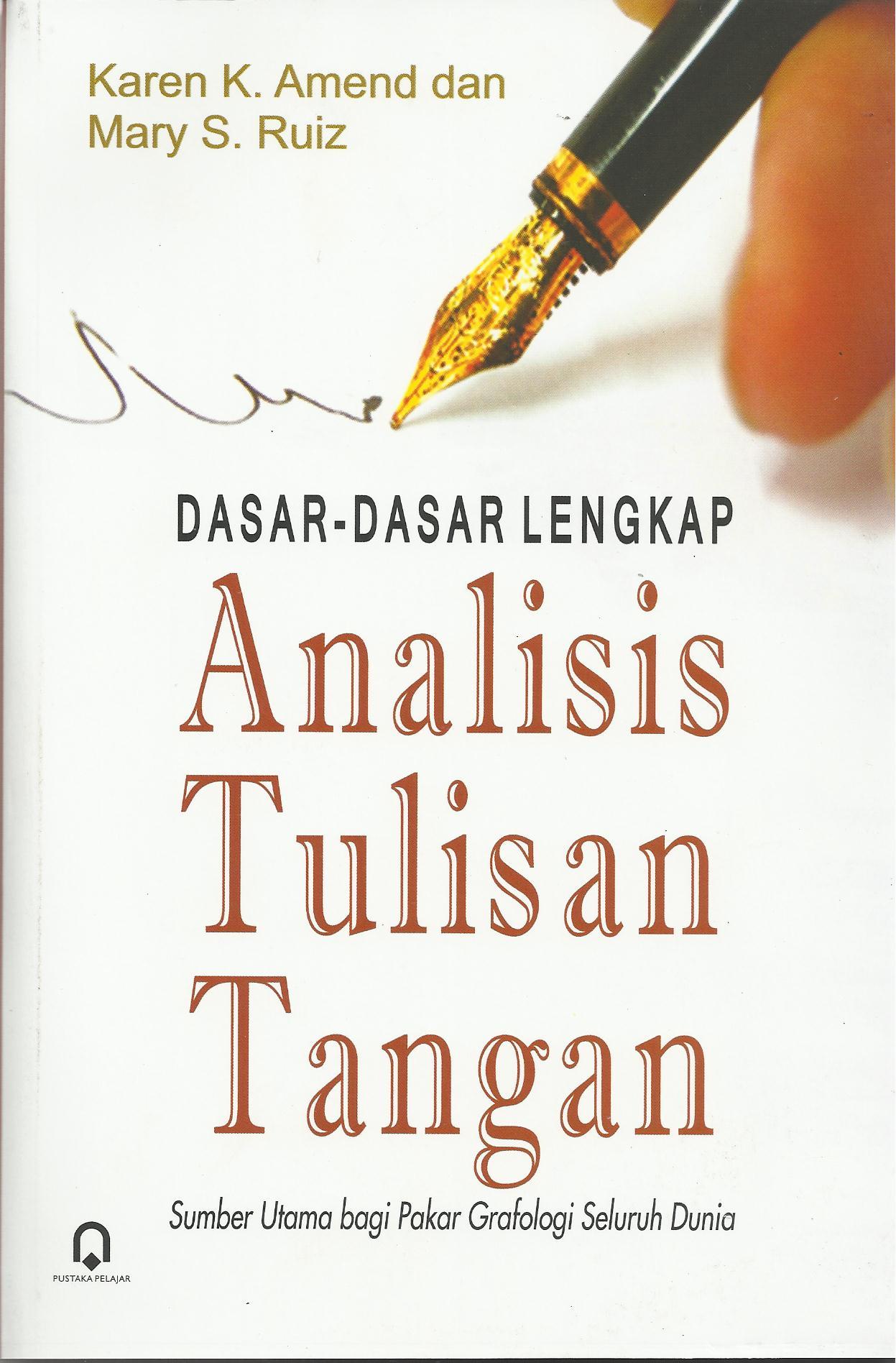 Analisis Tulisan Tangan