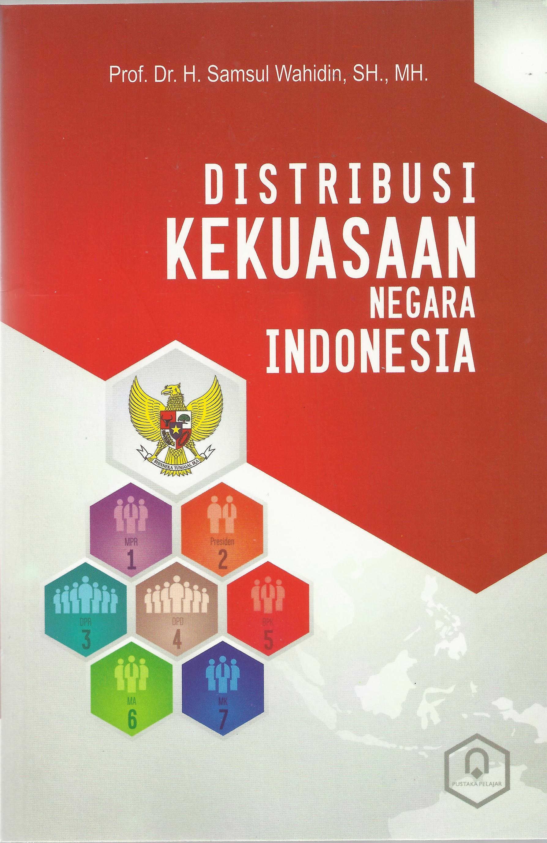 Distribusi Kekuasaan Negara Indonesia