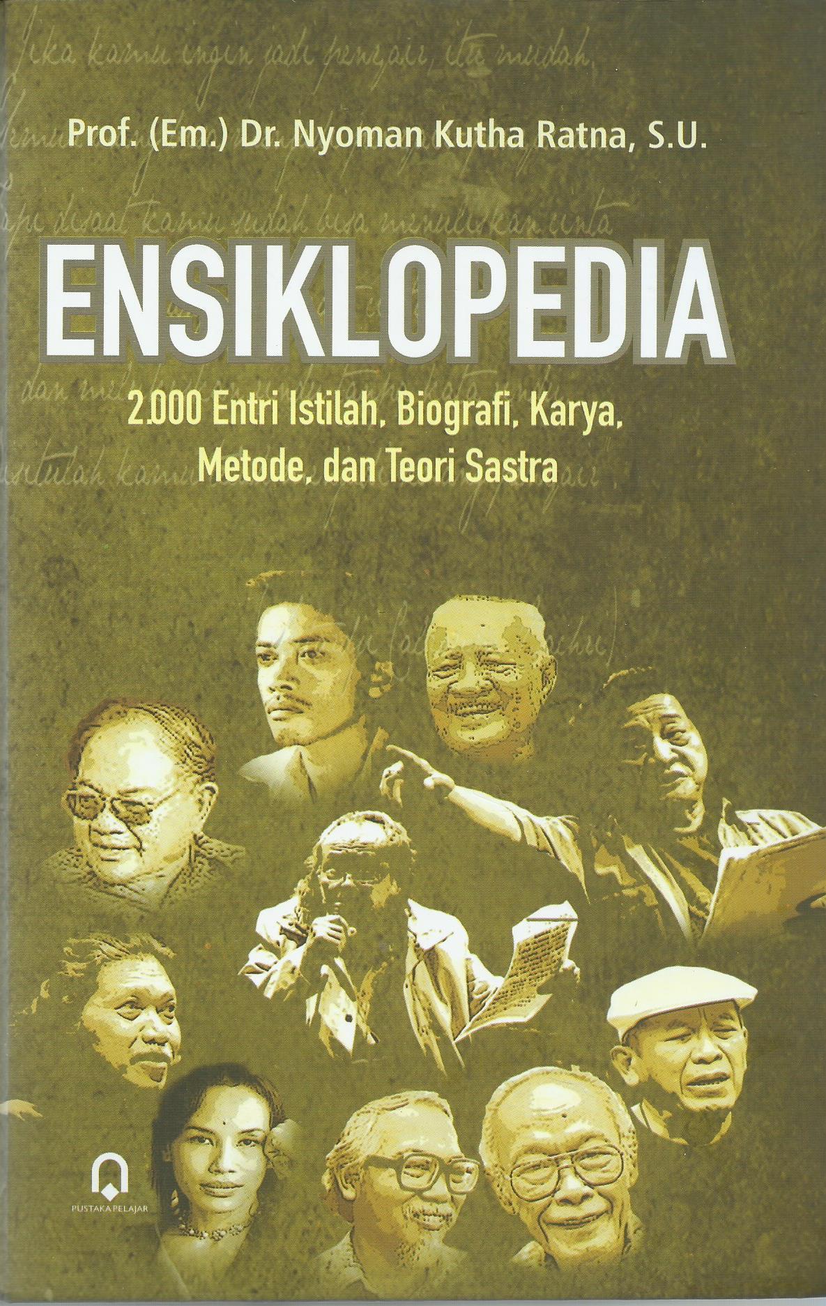 Ensiklopedia 2000 Entri Istilah Biografi Karya Metode dan Teori Sastra