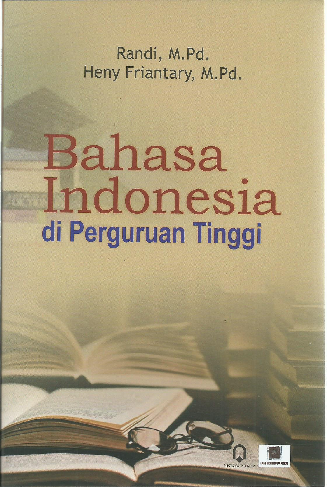 Bahasa Indonesia di Perguruan Tinggi