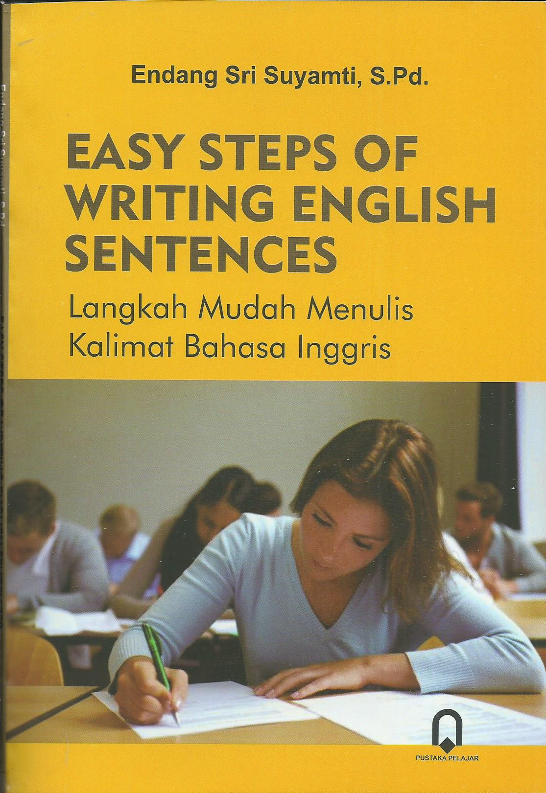 Easy Steps Of Writing English Sentences