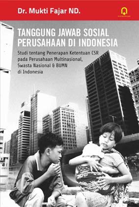 Tanggung Jawab Sosial Perusahaan di Indonesia