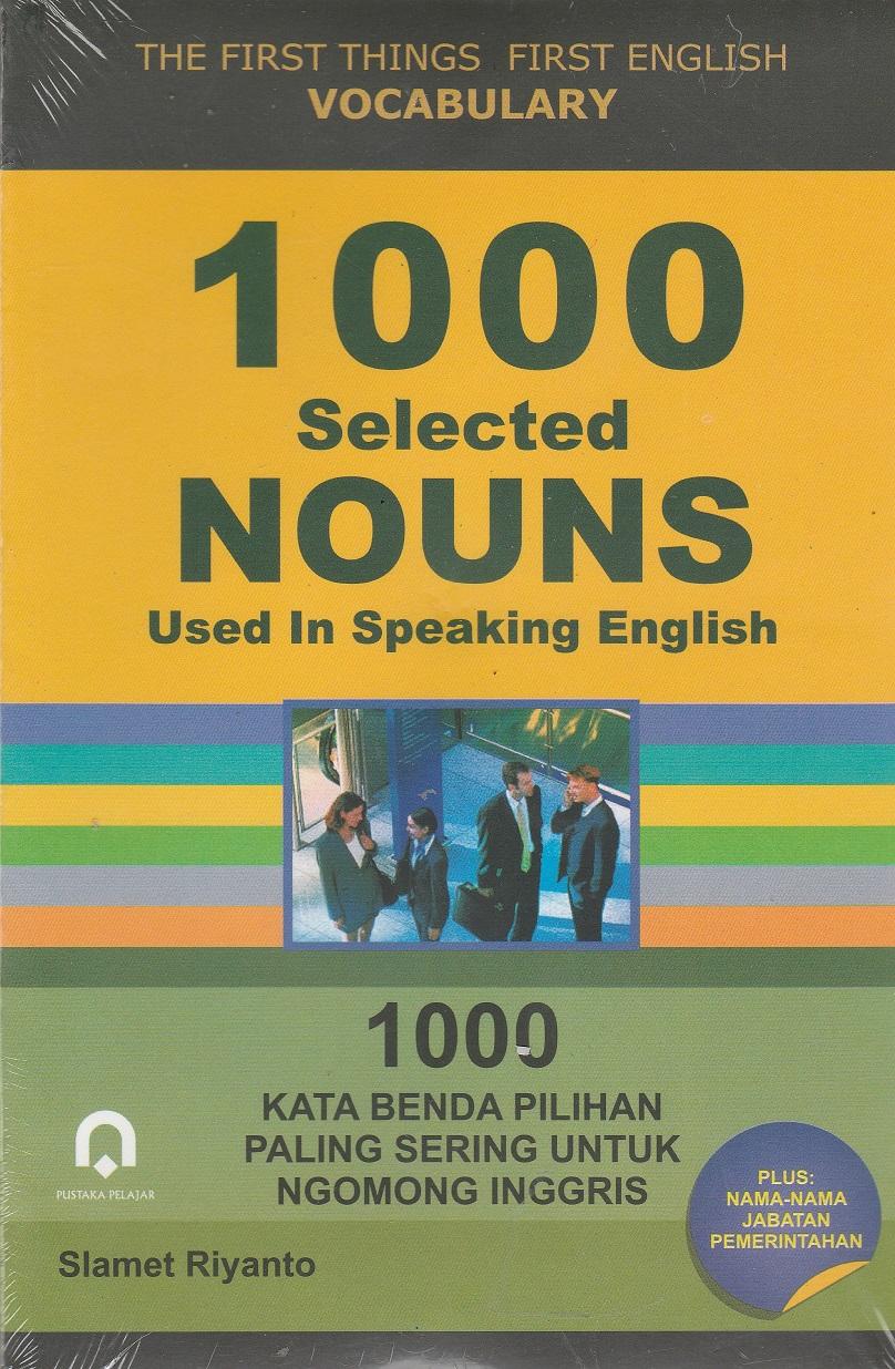 1000 Selected Nouns