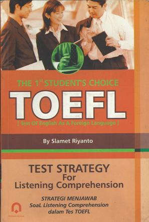 TOEFL Test Strategy For Listening