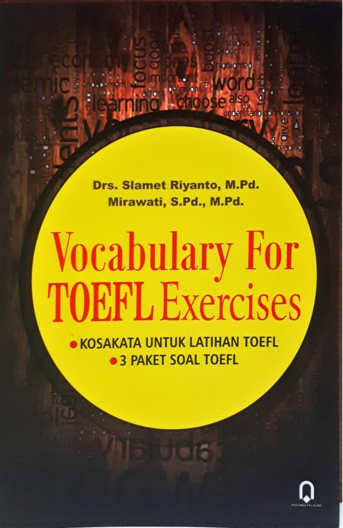 Vocabulary For Toefl Exercise