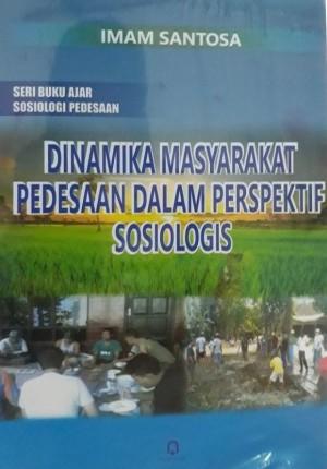 Dinamika Masyarakat pedesaan