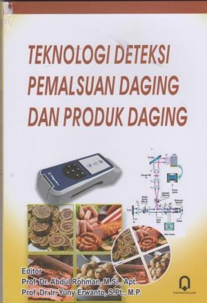 Teknologi Deteksi Pemalsuan Daging Dan Produk Daging